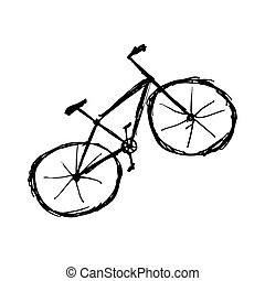 Bicycle sketch for your design