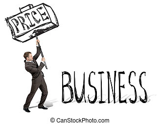Price hit business