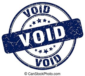 void blue grunge round vintage rubber stamp