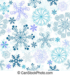 Christmas seamless pattern (vector)