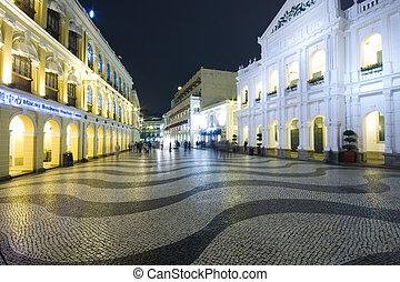 Largo do Senado, Senado Square, Macau