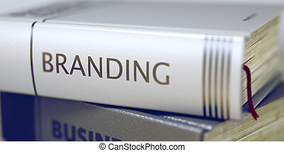 Branding Book Title on the Spine - Branding Concept on Book...