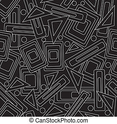 Stylish pattern - Stylish vector pattern with black and...