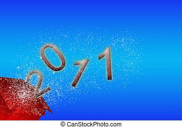 sylvester 2011 - 2011 sylvester card
