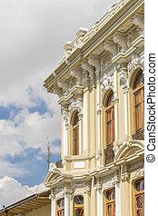 Historic Center of Quito Ecuador - QUITO, ECUADOR, OCTOBER -...