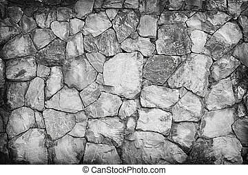 Stone wall texture or background. Gray color