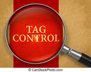 Tag Control through Lens on Old Paper. - Tag Control through...
