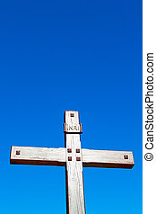 catholic sacred europe and the sky background - abstract...