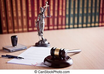 Court Judge's gavel
