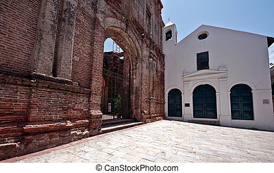 Old church Casco viejo Panama