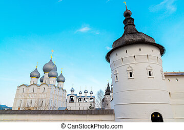 Rostov Veliky, Russia - View of Kremlin - Rostov Veliky,...