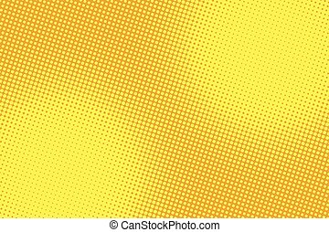 retro comic yellow background raster gradient halftone