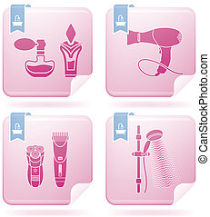 Bathroom Utensils and other related everyday things part of...