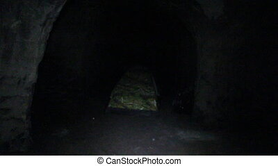 Adventure search. Cavers set up tent in cave - Adventure...