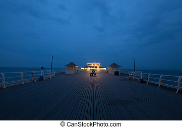 Cromer Pier, at Sunset, Norfolk
