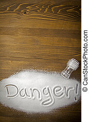 Danger of too much salt ndash; Health Hazard - DANGER...