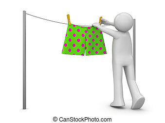 Lifestyle collection - Drying panties
