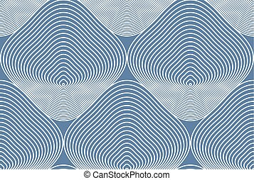 Vector ornamental pattern, seamless art background decorated...