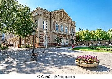 The theater building Baden-Baden Germany Built in 1860-1862...