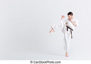 macho, luchador,  kimono