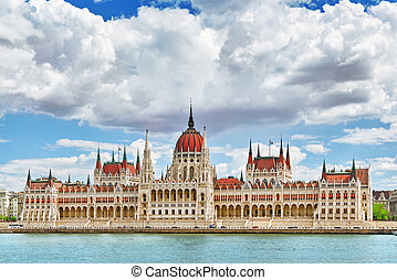 Hungarian Parliament at daytime Budapest One of the most...