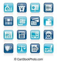 financial services icons