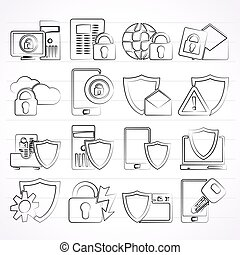 Information Protection Icons