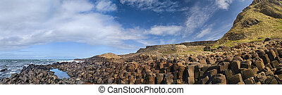 Picture of Giants Causeway in Northern Ireland - Landscape...
