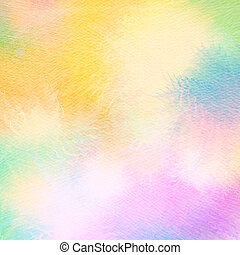 Abstract watercolor background. Abstract colorful digital...