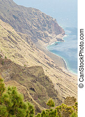 Las Playas balcony, El Hierro island - Las Playas balcony at...