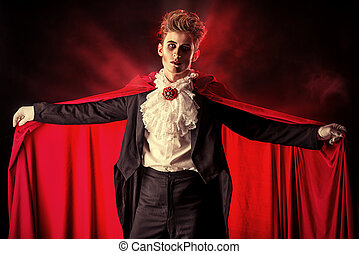 dracula costume - Bewitching handsome male vampire Halloween...