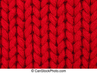 Hand knitting - purl