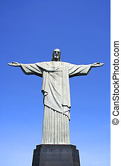 Christo Statue in Rio de Janeiro - Statue of Jesus Christ on...