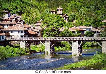 Veliko Tarnovo, Bulgaria - Old Town Of Veliko Tarnovo,...