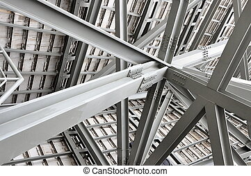 Industrial construction - Iron, steel and hard job thats...