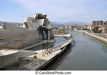 les, Guggenheim, musée, bilbao