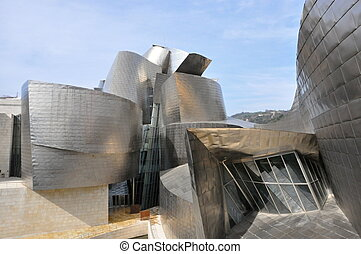 The Guggenheim Museum Bilbao is a museum of modern and...