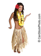 Hula Dancer - Beautiful hawaiian hula dancer