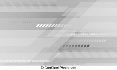 Abstract grey technology video animation