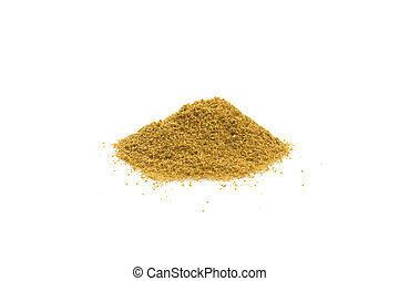 Ground Cumin - Food & Drinks - Spices - Cumin isolated on...