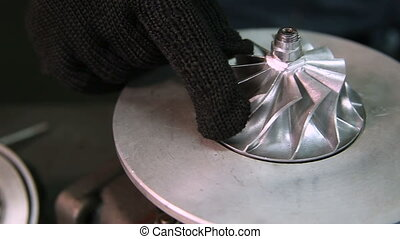 Turbocharger car. Reconditioning and service. - Turbocharger...