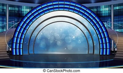 Entertainment TV Studio Set-21 - Entertainment TV Studio Set...