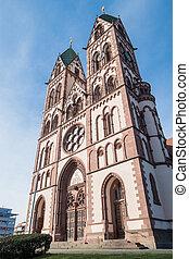Herz-Jesu-Kirche Freiburg - Beautiful Herz-Jesu or Heart of...