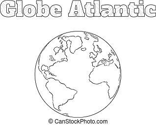 Globe Atlantic view