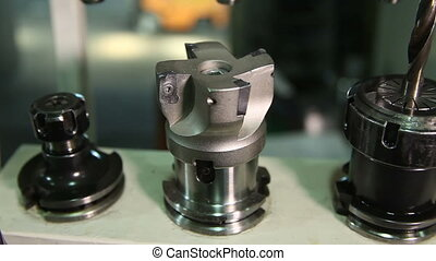 Details of CNC machine tools. Stand