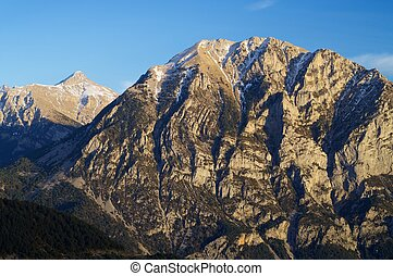 Pyrenees - Mountains in Pyrenees, Huesca, Aragon, Spain