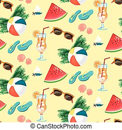 Summer holiday pattern