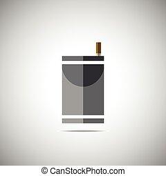 cigarette pack icon