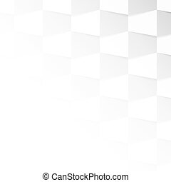 Gray and white gradient background made from trapeze Vector...