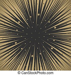 Shooting stars background. Flying meteorites. - Shooting...